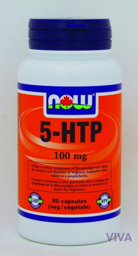 NOW Foods 5-HTP 100 mg - 60 vcaps