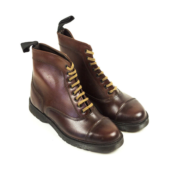 Vintage Deadstock Fly-Hi Paddock Boots - Brown Leather (Made In UK 6)
