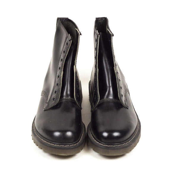 Vintage Deadstock Contak 8 Eye Boots - Black (Made In UK 7)