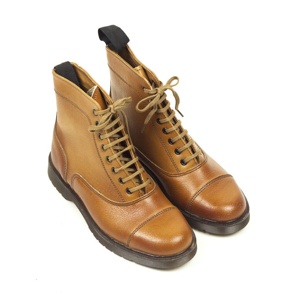 Vintage Deadstock Fly-Hi Paddock Boot - Tan Leather (UK6)