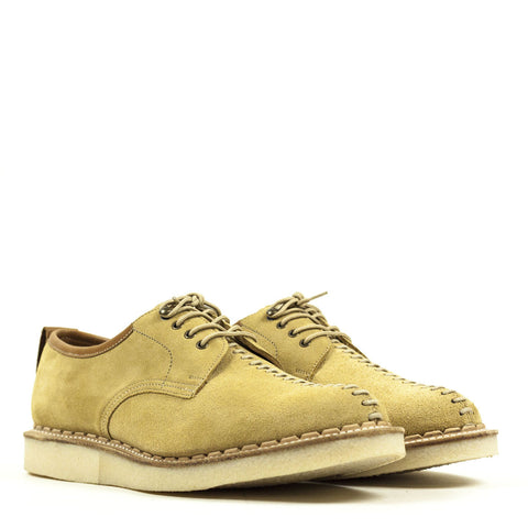 George Cox for Local Research - The Seamer Shoe - Sandstone Suede