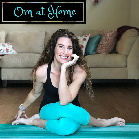 OM at Home: Developing a Home Practice with Tracey Garcia (Online)
