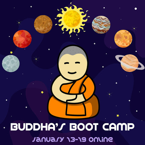 Buddha's Boot Camp - Meditate Together with Gina Caputo (Online) - Begins January 2019
