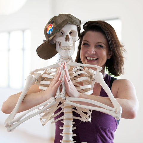 Anatomy for Yoga Teachers with Gina Caputo in Boulder, CO