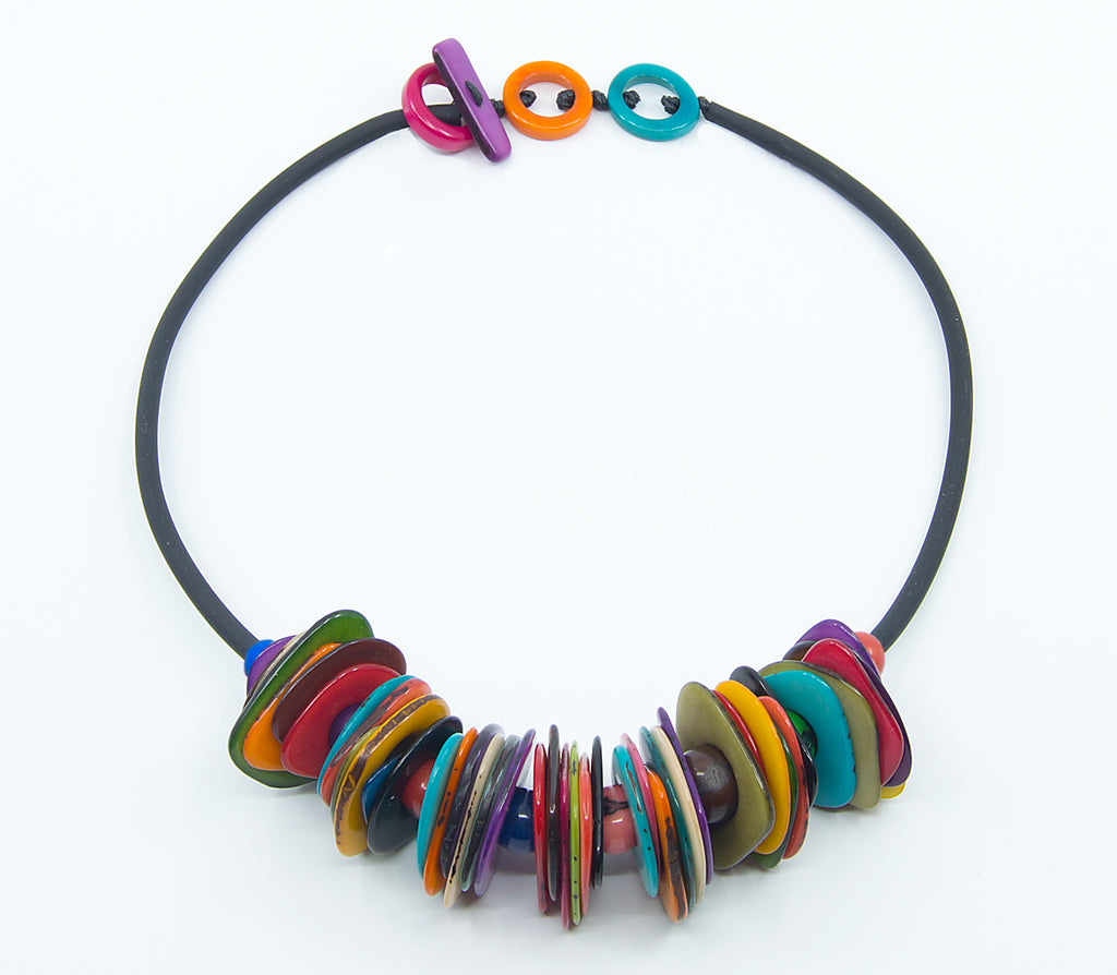 Slice and Stack Necklace