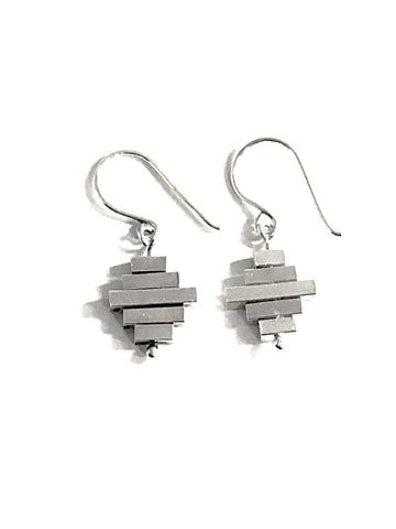 Spinning Sterling Silver Earrings