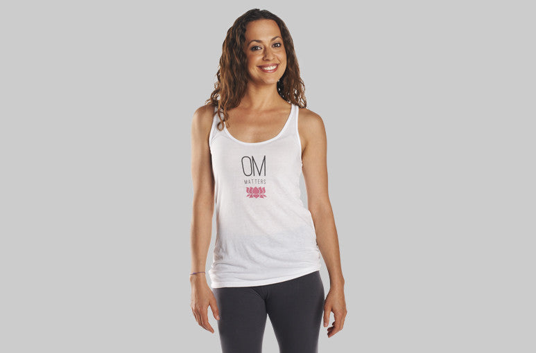 Eco-Friendly Yoga Shirt made in the USA - OM Matters®