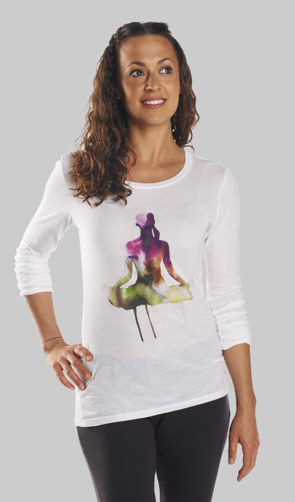 Dhyāna Long Sleeve Yoga Shirt