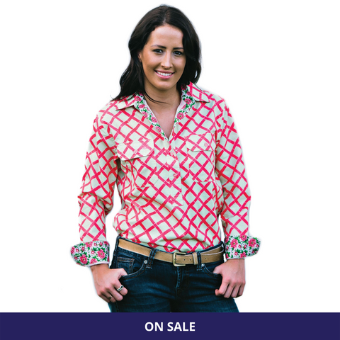 Railview Half Button Work Shirt