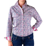 Ellie Full Button Work Shirt - Antola Trading