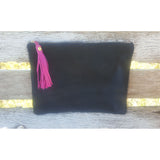 Cow Hide Clutch - Large