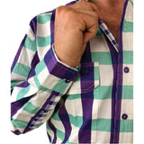 Mitchell Full Button Work Shirt - Antola Trading