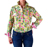 Rosie Half Button Work Shirt