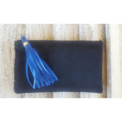 Cow Hide Clutch - Small