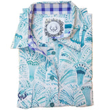 Sophia Half Button Work Shirt