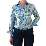 April Full Button Work Shirt - Antola Trading