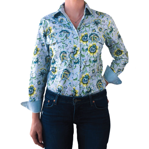 April Full Button Work Shirt