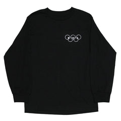 Blue Tile Lounge Long Sleeve T-Shirt 2020 Black