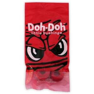 Shortys Bushings Doh Doh's Red Medium Hard 95a