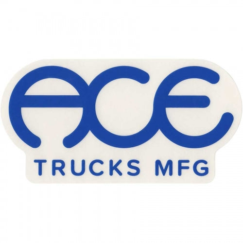 Ace Trucks Sticker Standard Logo Blue