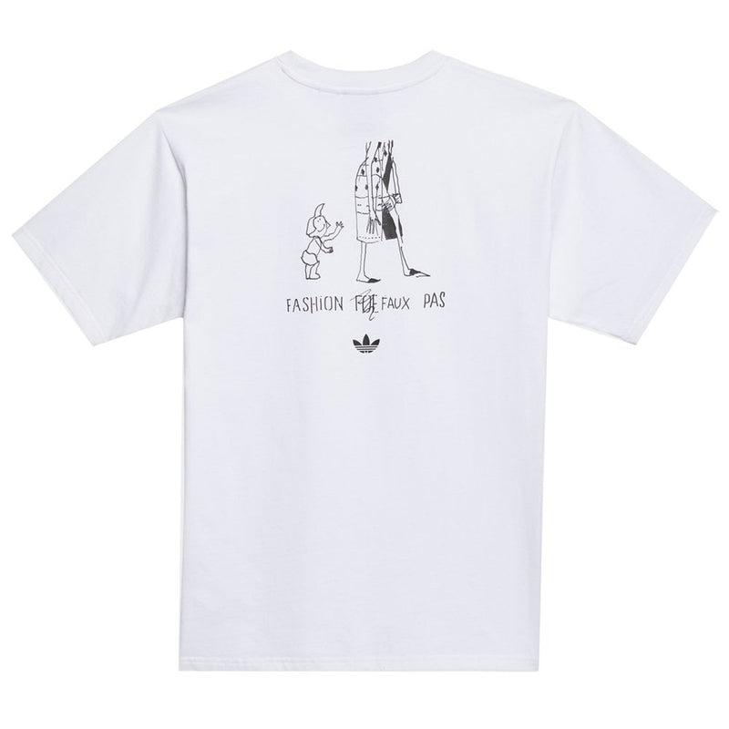 Adidas T-Shirt Gonz Graphic White
