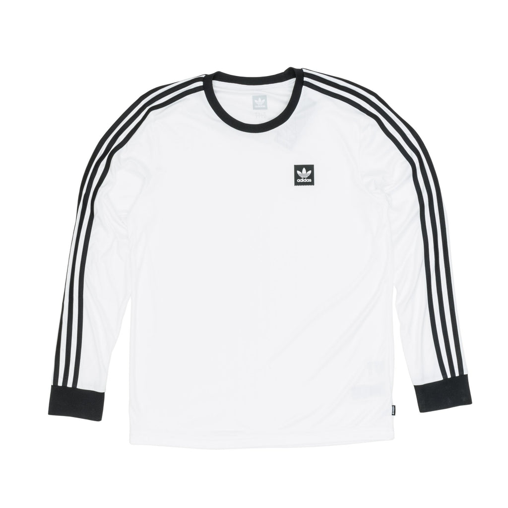 Adidas Long Sleeve Club Jersey White/Black