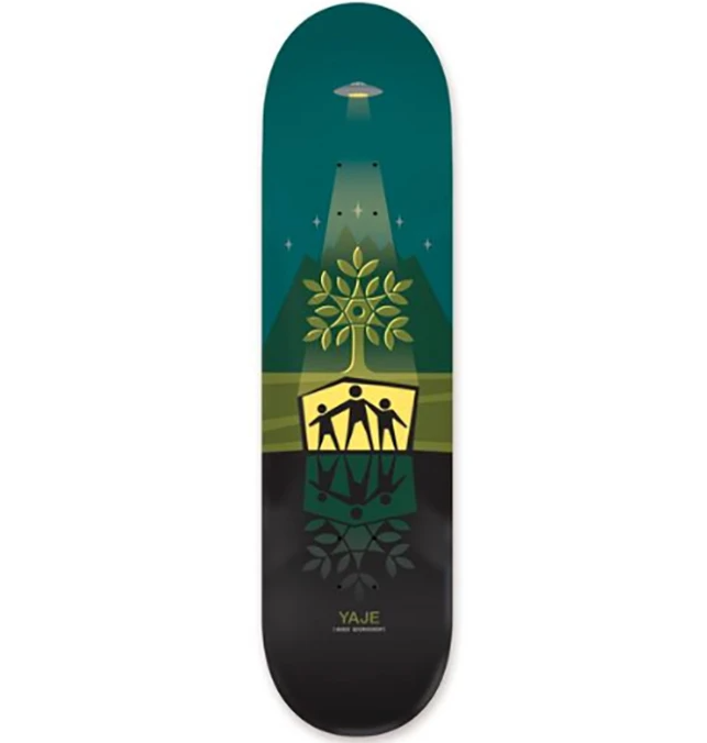 Alien Workshop Deck Yaje Shelter Green 8.125""