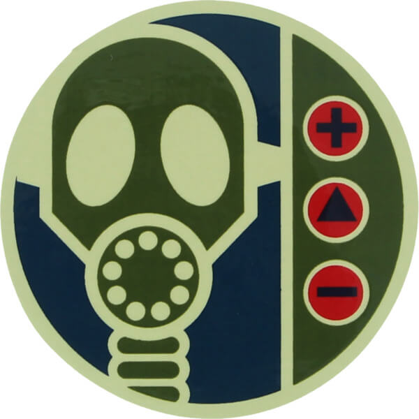 Alien Workshop Sticker Gas Mask