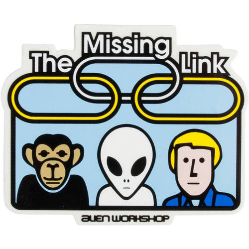 Alien Workshop Sticker Missing Link
