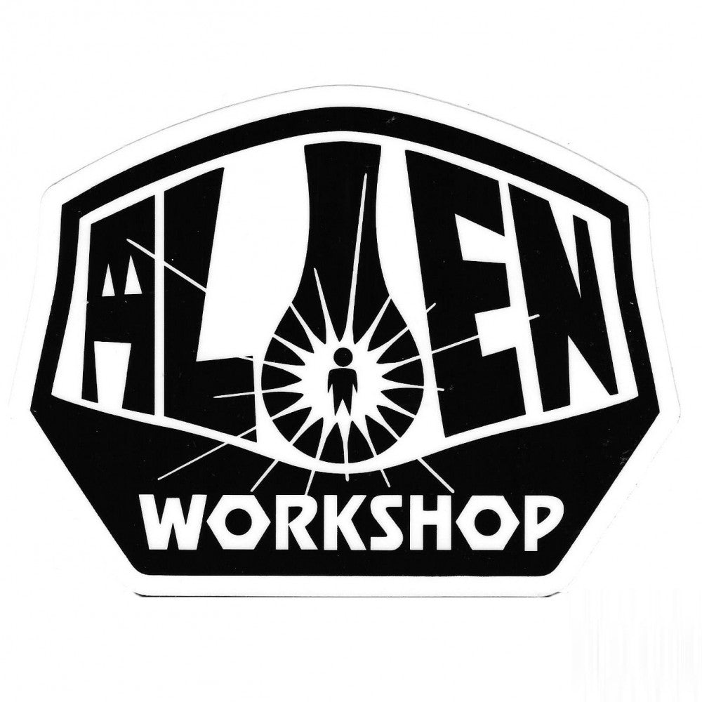 Alien Workshop Sticker OG Logo Lrg Black