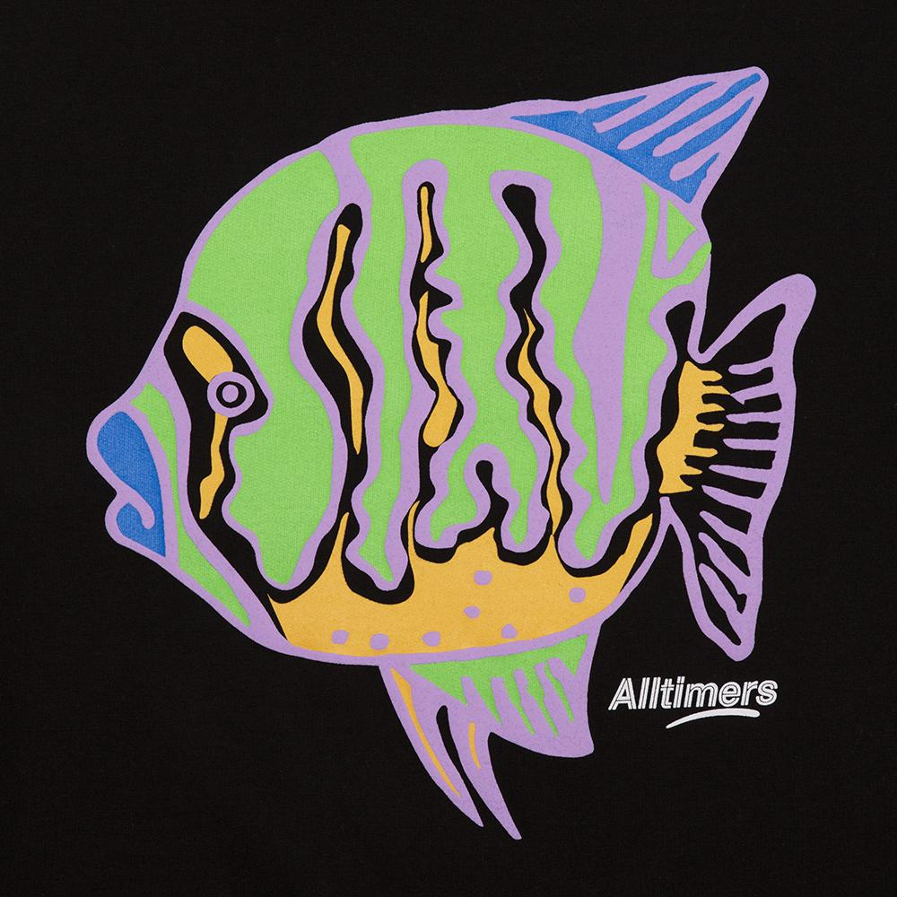 Alltimers Crew Neck Sweater Puffer Fish Black