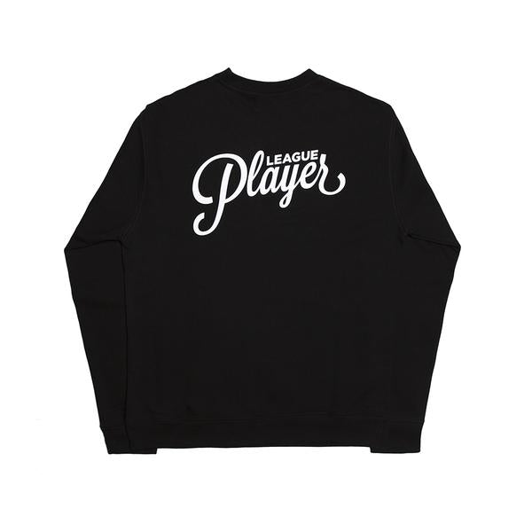 Alltimers Crew Neck Sweater Reverse Logo Black