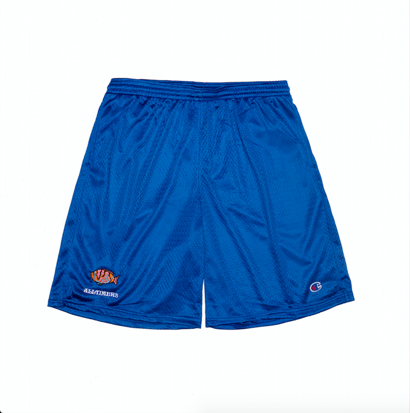 Alltimers Shorts Water Deep Sea Blue
