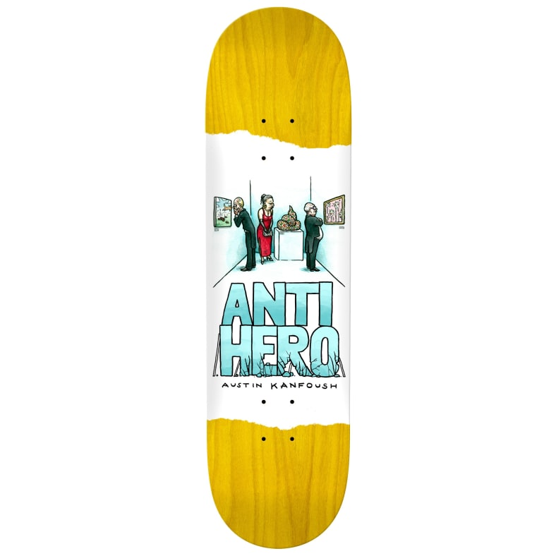 Anti Hero Deck Kanfoush Expressions 8.4""