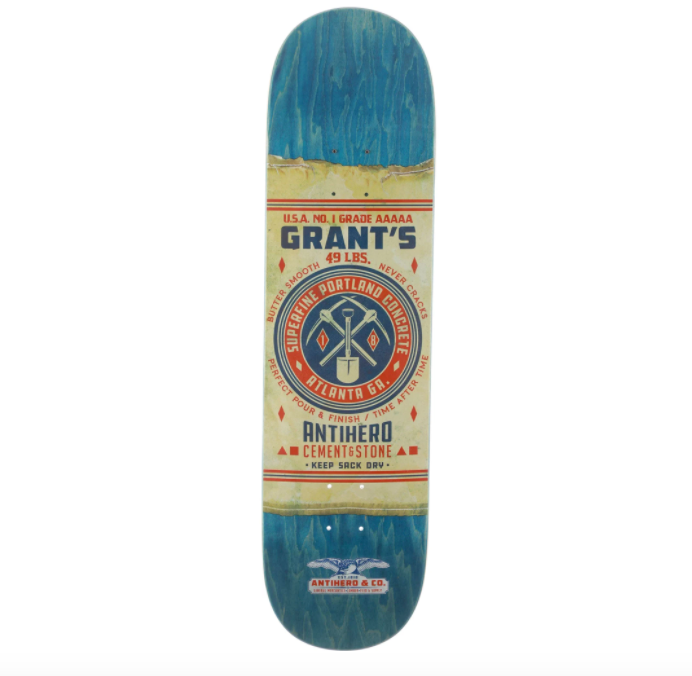 "Anti Hero Deck Taylor General Mercantile 8.38"" FULL"