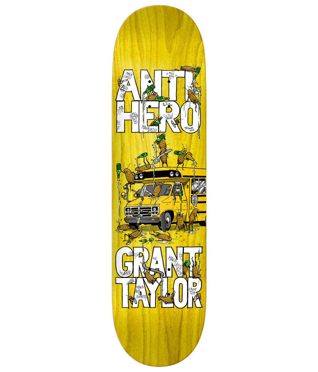 Anti Hero Deck Taylor Maka Bus 8.5""