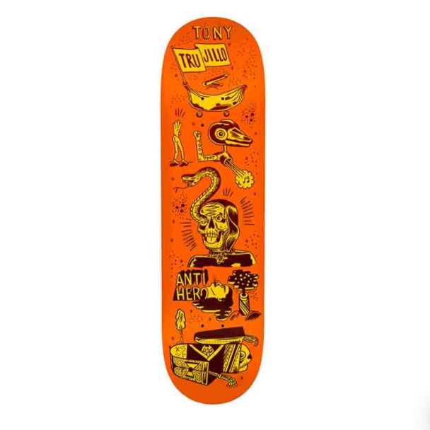 Anti Hero Deck Trujillo Reach For The Stars 8.5""