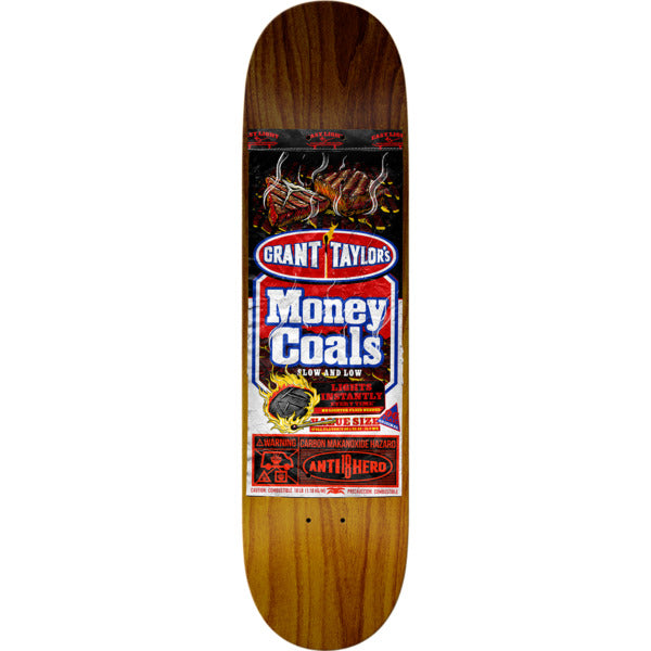 Anti Hero Deck Taylor Money Coals 8.38""