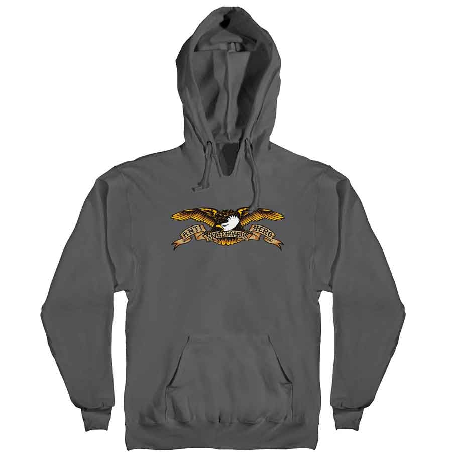 Anti Hero Hood Eagle Charcoal