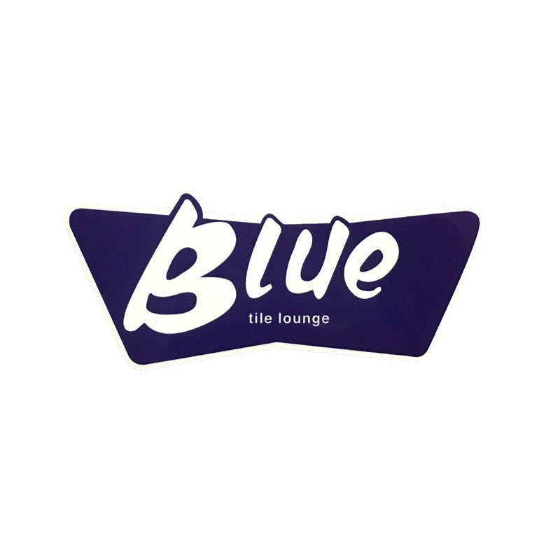 Blue Tile Lounge BLUE Sticker