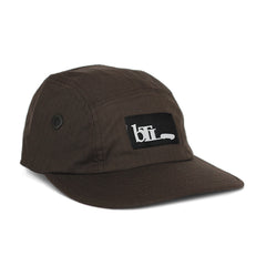 Blue Tile Lounge 5 Panel Hat OG Logo Brown