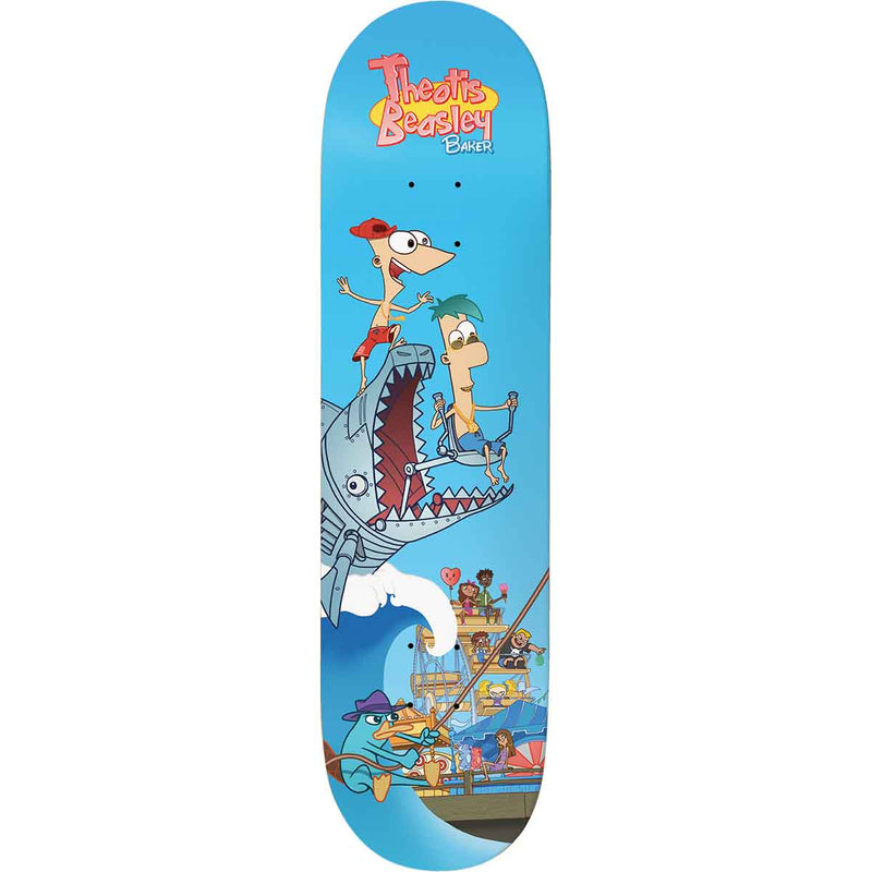 Baker Deck Spanky Stipple 8.125""