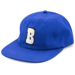 Baker 6 Panel Hat Capital B Royal