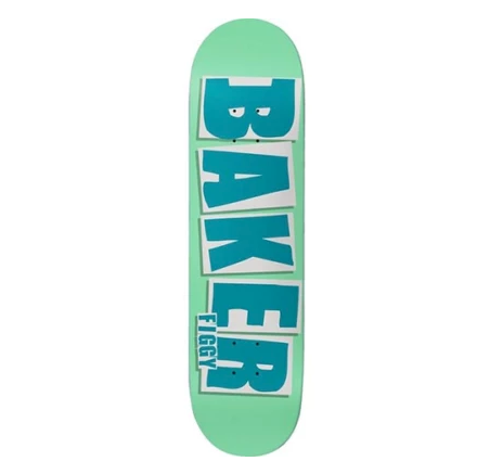 Baker Deck Figgy Brand Name Turquoise 8.125""