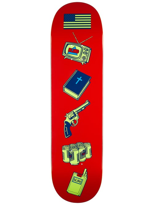 Blind Deck American Icons Red 8.25""