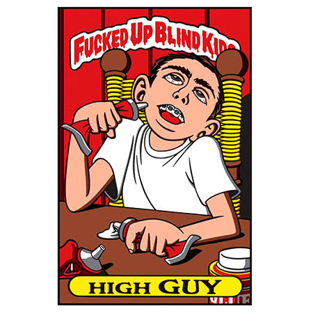 Blind Sticker High Guy