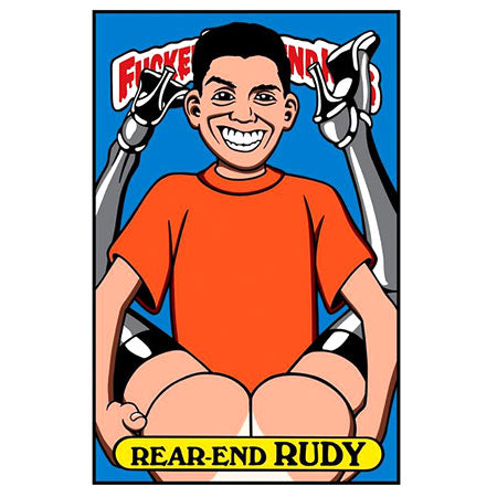Blind Sticker Rear End Rudy