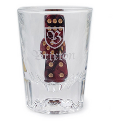 Brixton Good Times Shot Glass & Dice