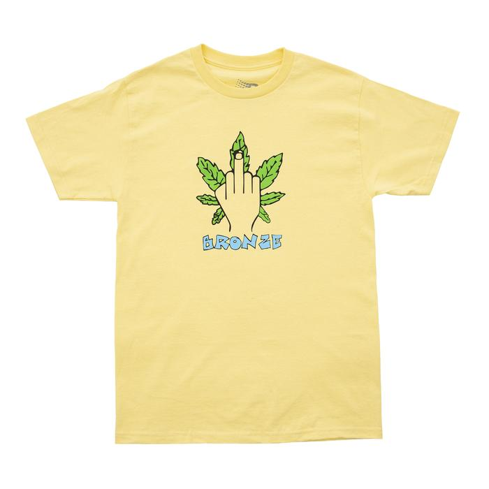 Bronze T-Shirt Weed Finger Banana