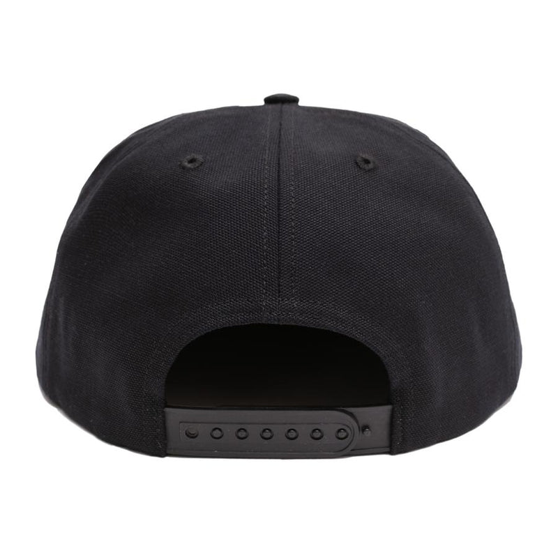 Call Me 917 Snapback Hat Cyber Logotype Black